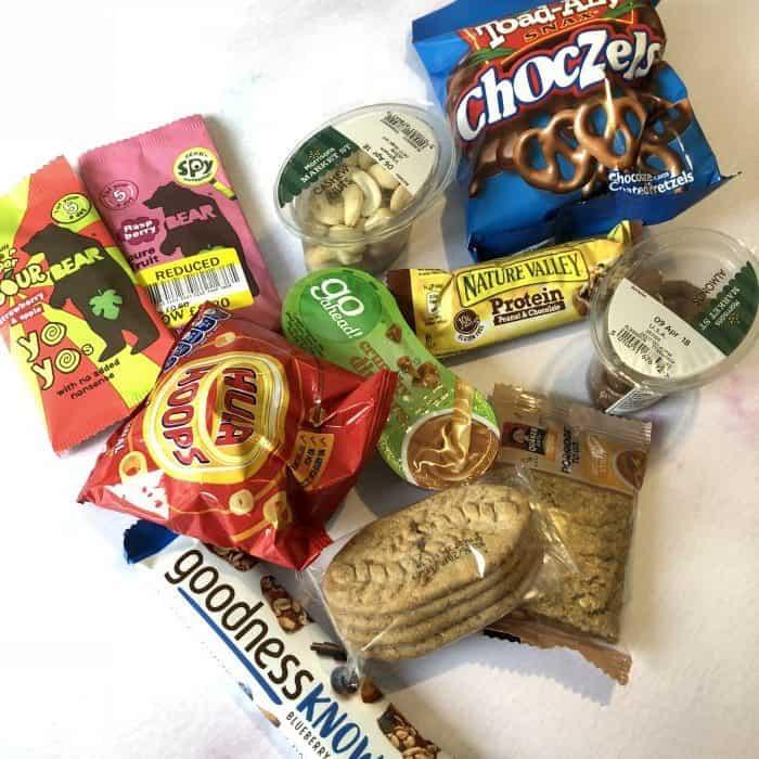 snacks for the jouney